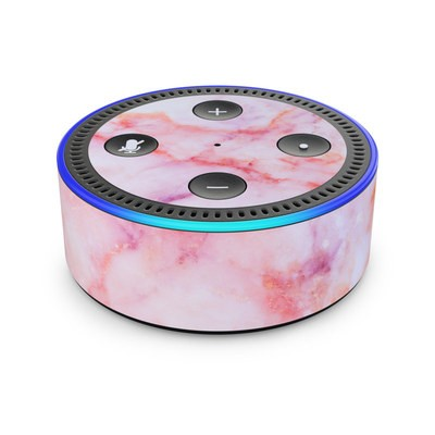 Amazon Echo Dot 2nd Gen Skin - Blush Marble