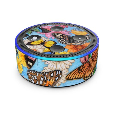 Amazon Echo Dot 2nd Gen Skin - Butterfly Land