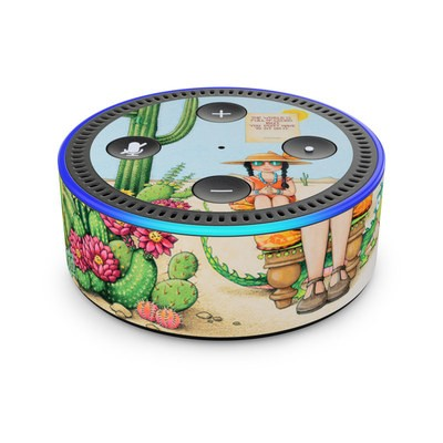 Amazon Echo Dot 2nd Gen Skin - Cactus
