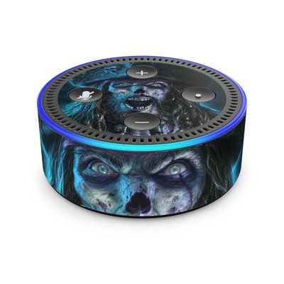Amazon Echo Dot 2nd Gen Skin - Captain Grimbeard