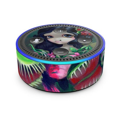 Amazon Echo Dot 2nd Gen Skin - Carnivorous Bouquet