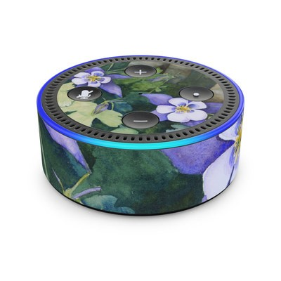 Amazon Echo Dot 2nd Gen Skin - Colorado Columbines
