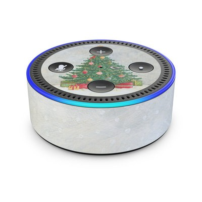 Amazon Echo Dot 2nd Gen Skin - Christmas Wonderland