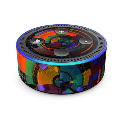 Amazon Echo Dot 2nd Gen Skin - Color Wheel