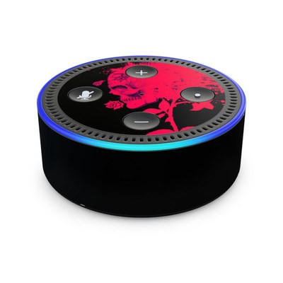Amazon Echo Dot 2nd Gen Skin - Dead Rose