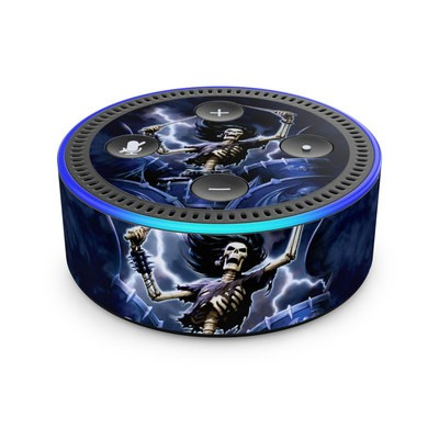 Amazon Echo Dot 2nd Gen Skin - Death Drummer