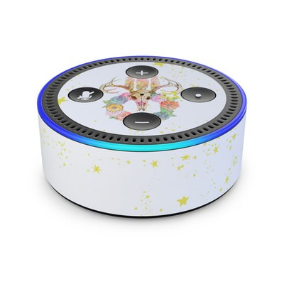 Amazon Echo Dot 2nd Gen Skin - Deer Skull