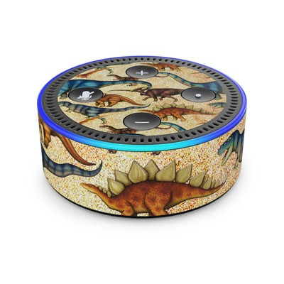 Amazon Echo Dot 2nd Gen Skin - Dinos