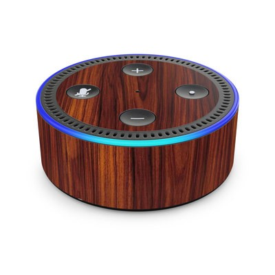 Amazon Echo Dot 2nd Gen Skin - Dark Rosewood