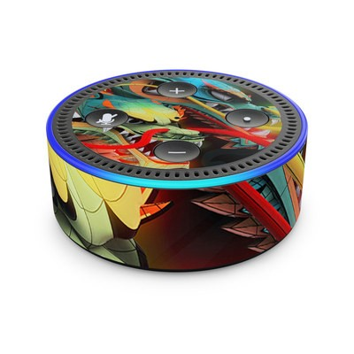 Amazon Echo Dot 2nd Gen Skin - Dragons
