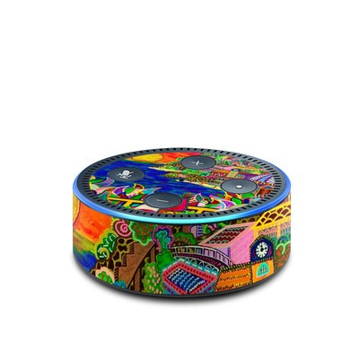 Amazon Echo Dot 2nd Gen Skin - Dreaming In Italian