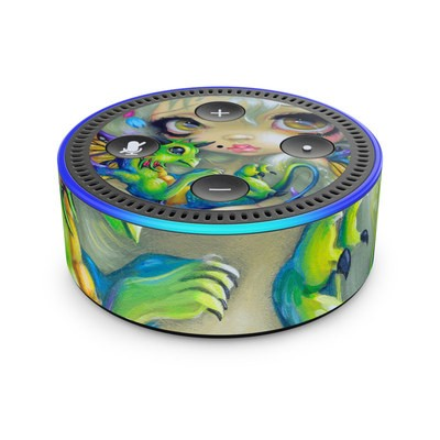 Amazon Echo Dot 2nd Gen Skin - Dragonling