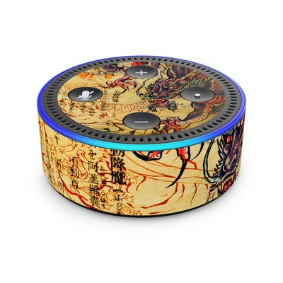 Amazon Echo Dot 2nd Gen Skin - Dragon Legend
