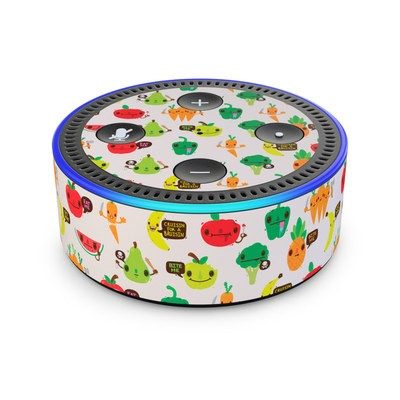 Amazon Echo Dot 2nd Gen Skin - Fooditude