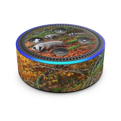 Amazon Echo Dot 2nd Gen Skin - Forest Gold