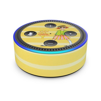 Amazon Echo Dot 2nd Gen Skin - You Go Girl