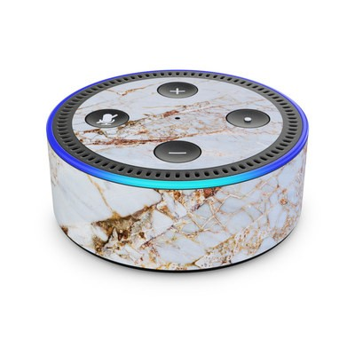 Amazon Echo Dot 2nd Gen Skin - Hazel Marble