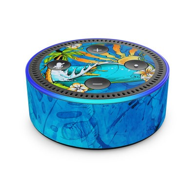 Amazon Echo Dot 2nd Gen Skin - Island Playground