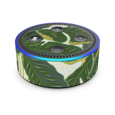 Amazon Echo Dot 2nd Gen Skin - Jungle Polka