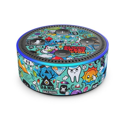 Amazon Echo Dot 2nd Gen Skin - Jewel Thief