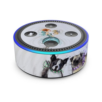 Amazon Echo Dot 2nd Gen Skin - A Kiss for Dot