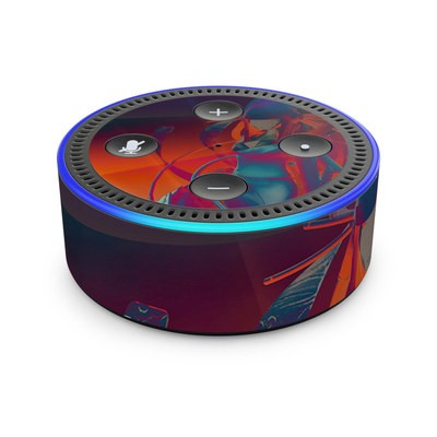 Amazon Echo Dot 2nd Gen Skin - Kokeshi 3
