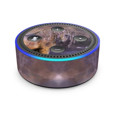 Amazon Echo Dot 2nd Gen Skin - Lavender Dawn