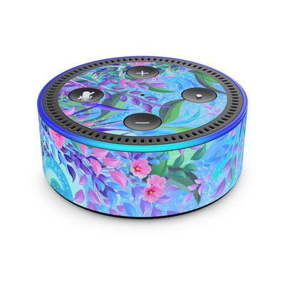 Amazon Echo Dot 2nd Gen Skin - Lavender Flowers