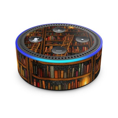 Amazon Echo Dot 2nd Gen Skin - Library