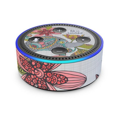 Amazon Echo Dot 2nd Gen Skin - Life is Beautiful