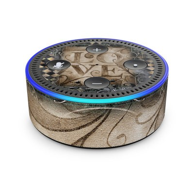 Amazon Echo Dot 2nd Gen Skin - Love's Embrace