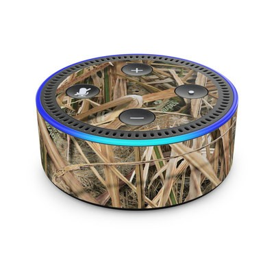 Amazon Echo Dot 2nd Gen Skin - Shadow Grass Blades
