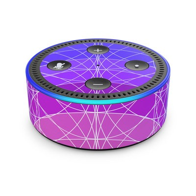 Amazon Echo Dot 2nd Gen Skin - Mulberry