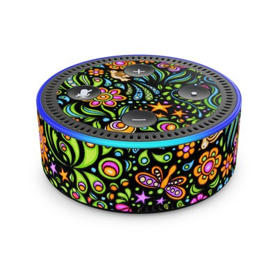 Amazon Echo Dot 2nd Gen Skin - Nature Ditzy