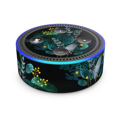 Amazon Echo Dot 2nd Gen Skin - Night Seaflower
