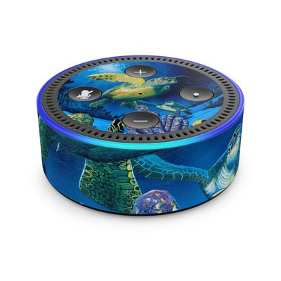 Amazon Echo Dot 2nd Gen Skin - Ocean Fest