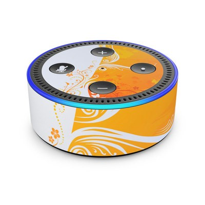 Amazon Echo Dot 2nd Gen Skin - Orange Crush