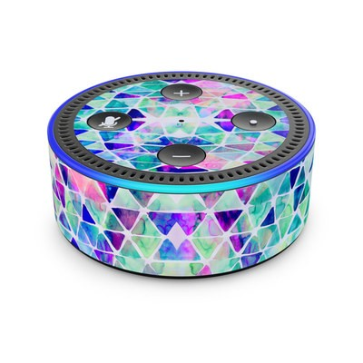 Amazon Echo Dot 2nd Gen Skin - Pastel Triangle