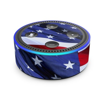 Amazon Echo Dot 2nd Gen Skin - Patriotic