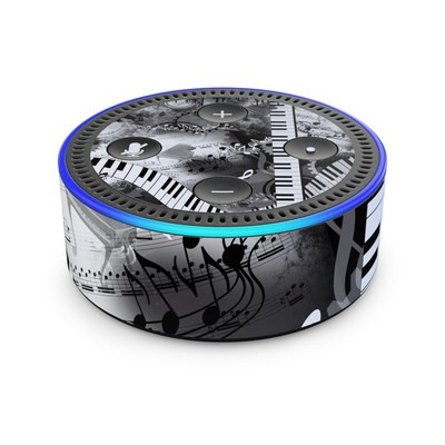 Amazon Echo Dot 2nd Gen Skin - Piano Pizazz