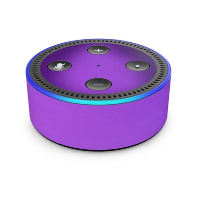Amazon Echo Dot 2nd Gen Skin - Purple Burst