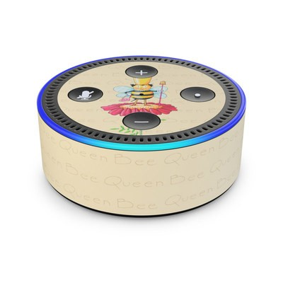 Amazon Echo Dot 2nd Gen Skin - Queen Bee