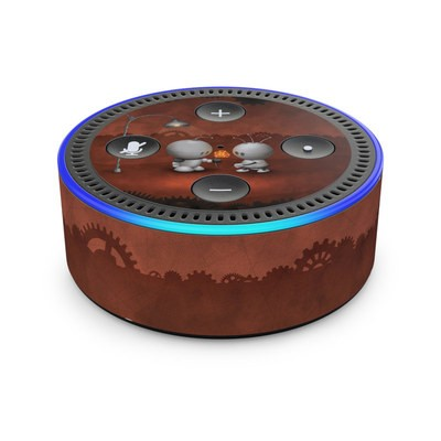 Amazon Echo Dot 2nd Gen Skin - Robots In Love