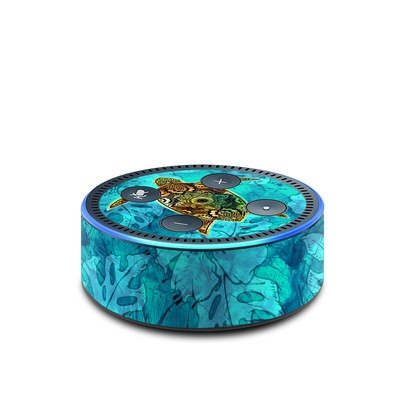 Amazon Echo Dot 2nd Gen Skin - Sacred Honu