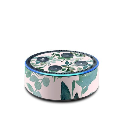 Amazon Echo Dot 2nd Gen Skin - Sage Greenery