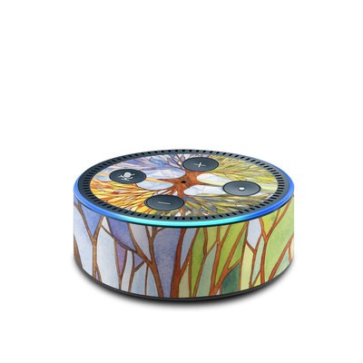 Amazon Echo Dot 2nd Gen Skin - Searching for the Season