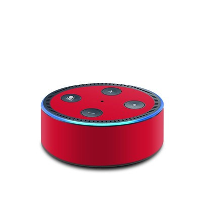 Amazon Echo Dot 2nd Gen Skin - Solid State Red