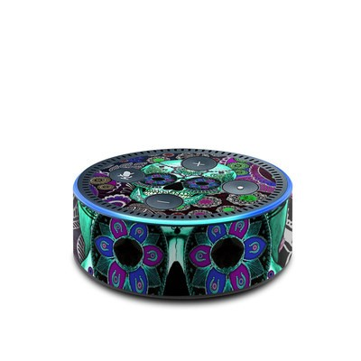 Amazon Echo Dot 2nd Gen Skin - Sugar Skull Sombrero