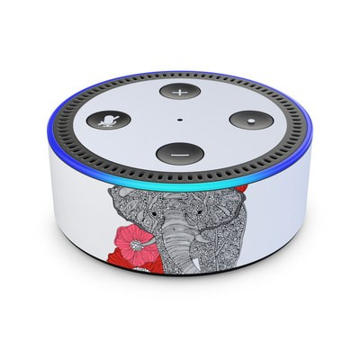 Amazon Echo Dot 2nd Gen Skin - The Elephant