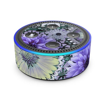 Amazon Echo Dot 2nd Gen Skin - Tidal Bloom